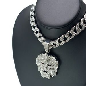Other - Iced Out Lion Head Neckalce